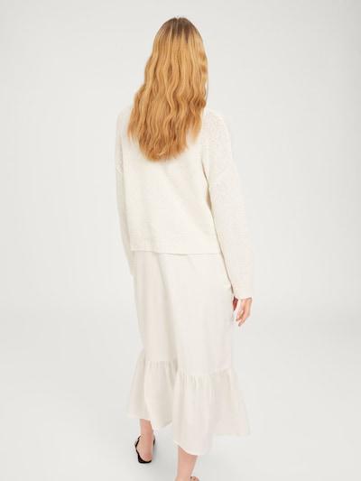 Pulover 'Miako' EDITED pe alb: Privire spate