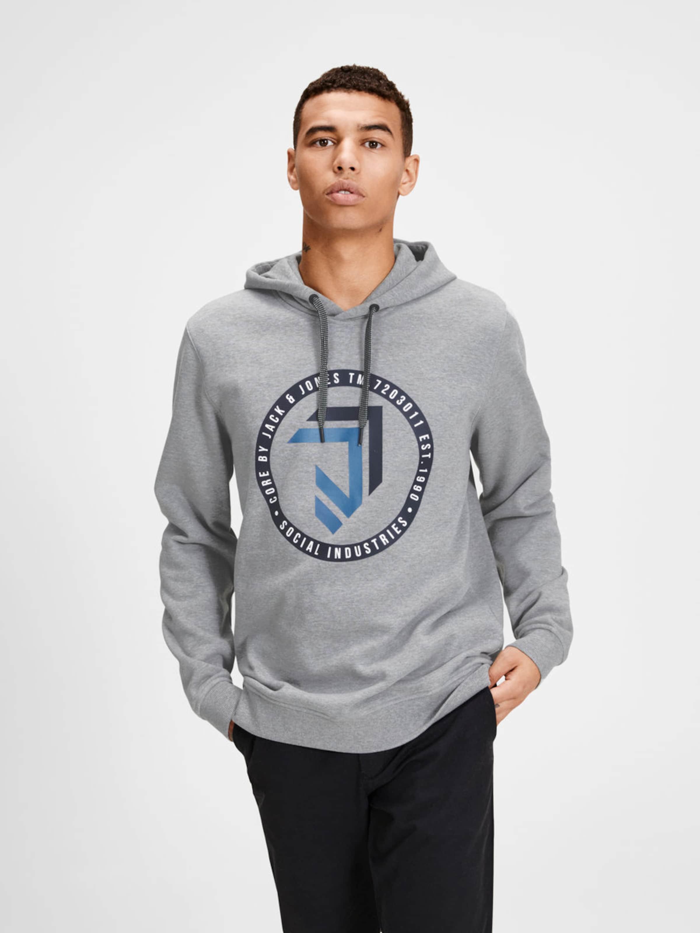 JACK & JONES Sweatshirt Grafik Beliebte Online-Verkauf Auslass Beste Ort  Günstig Kaufen Modisch 10mIQ