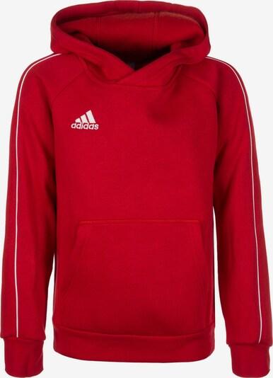 ADIDAS PERFORMANCE Sweatshirt 'Core 18' in feuerrot / weiß, Produktansicht