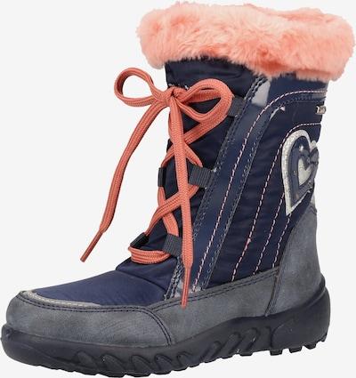 RICHTER Stiefel in navy / taubenblau / pink, Produktansicht