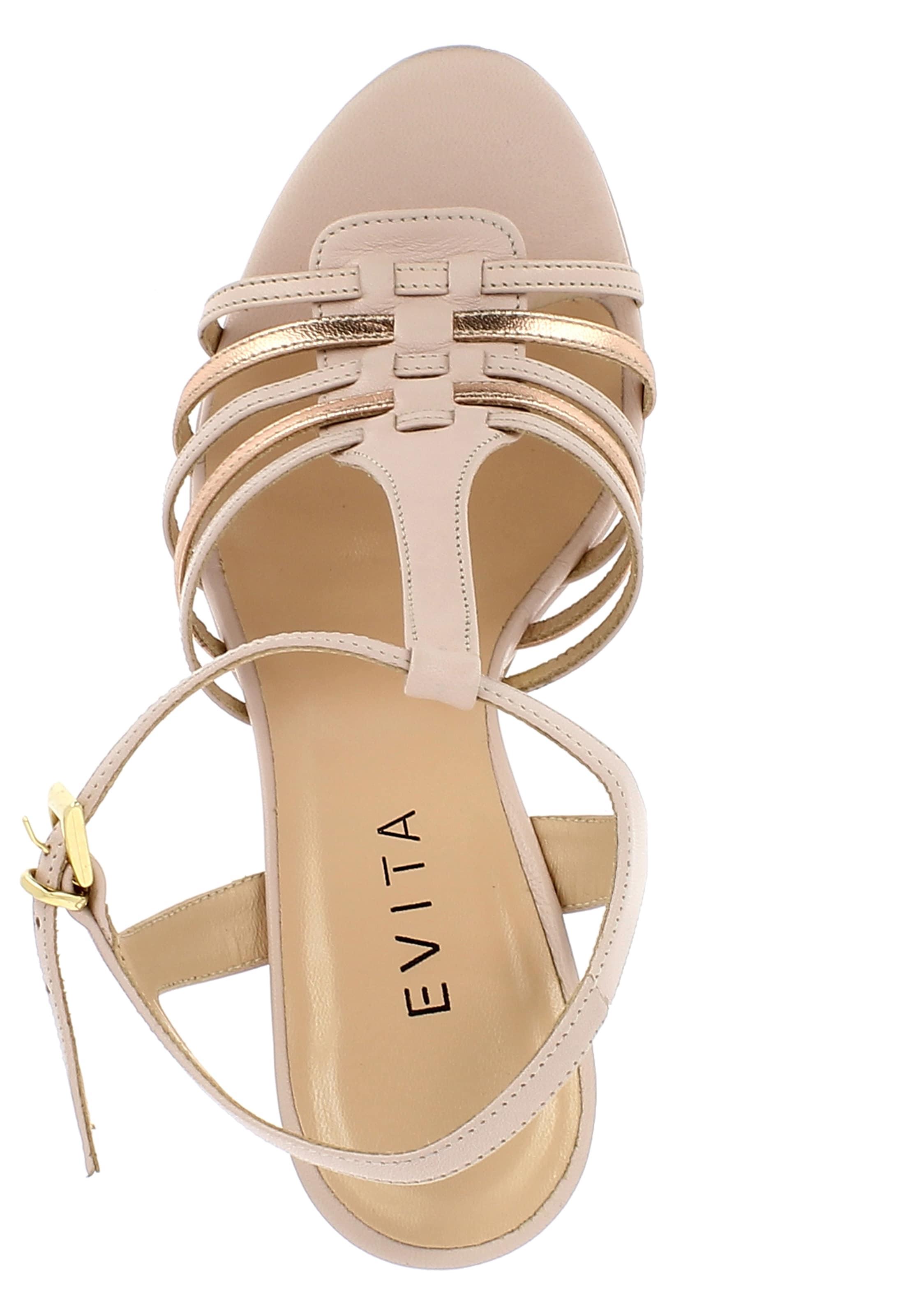 Sandalette Damen Evita Evita Damen Sandalette Altrosa In In trsBQxhdCo