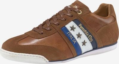 PANTOFOLA D'ORO Sneaker 'Imola Uomo' in blau / cognac / weiß, Produktansicht