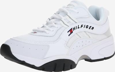 Tommy Jeans Zemie apavi pieejami balts, Preces skats