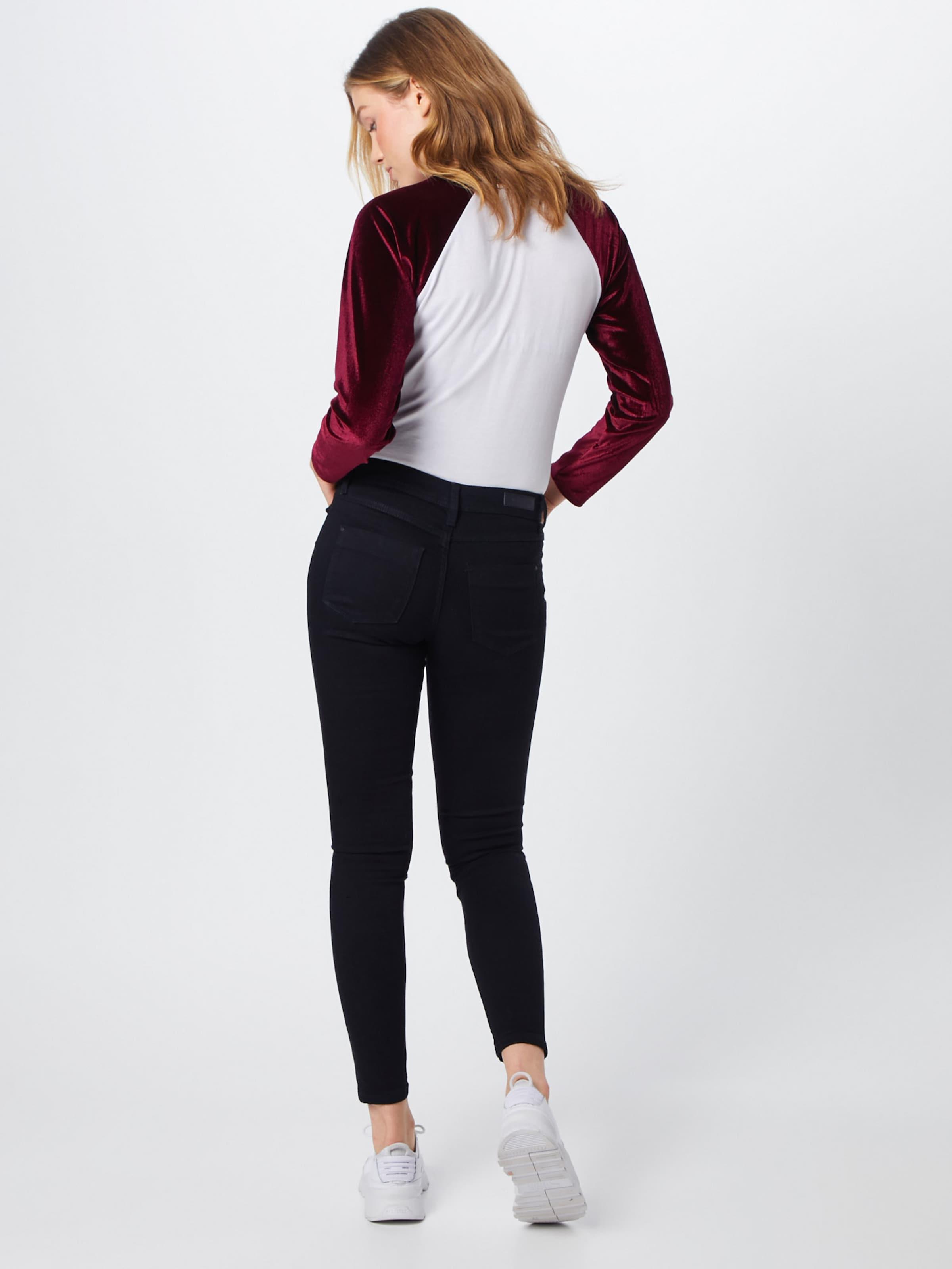 Jacqueline Black Denim In Yong Jeans De oCdxeB