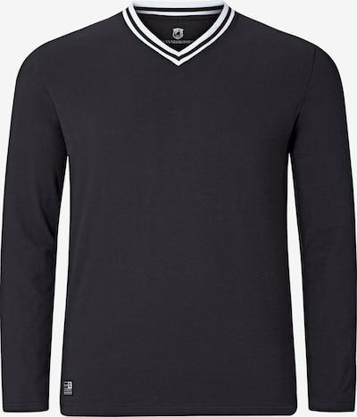 Jan Vanderstorm T-Shirt 'Wegard' en noir: Vue de face