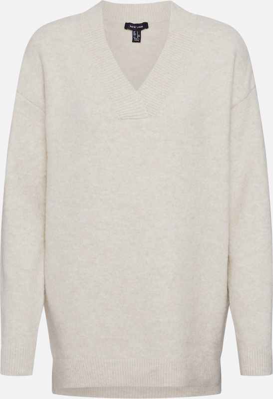 NEW LOOK Pullover 'JUMPER' in stone, Produktansicht