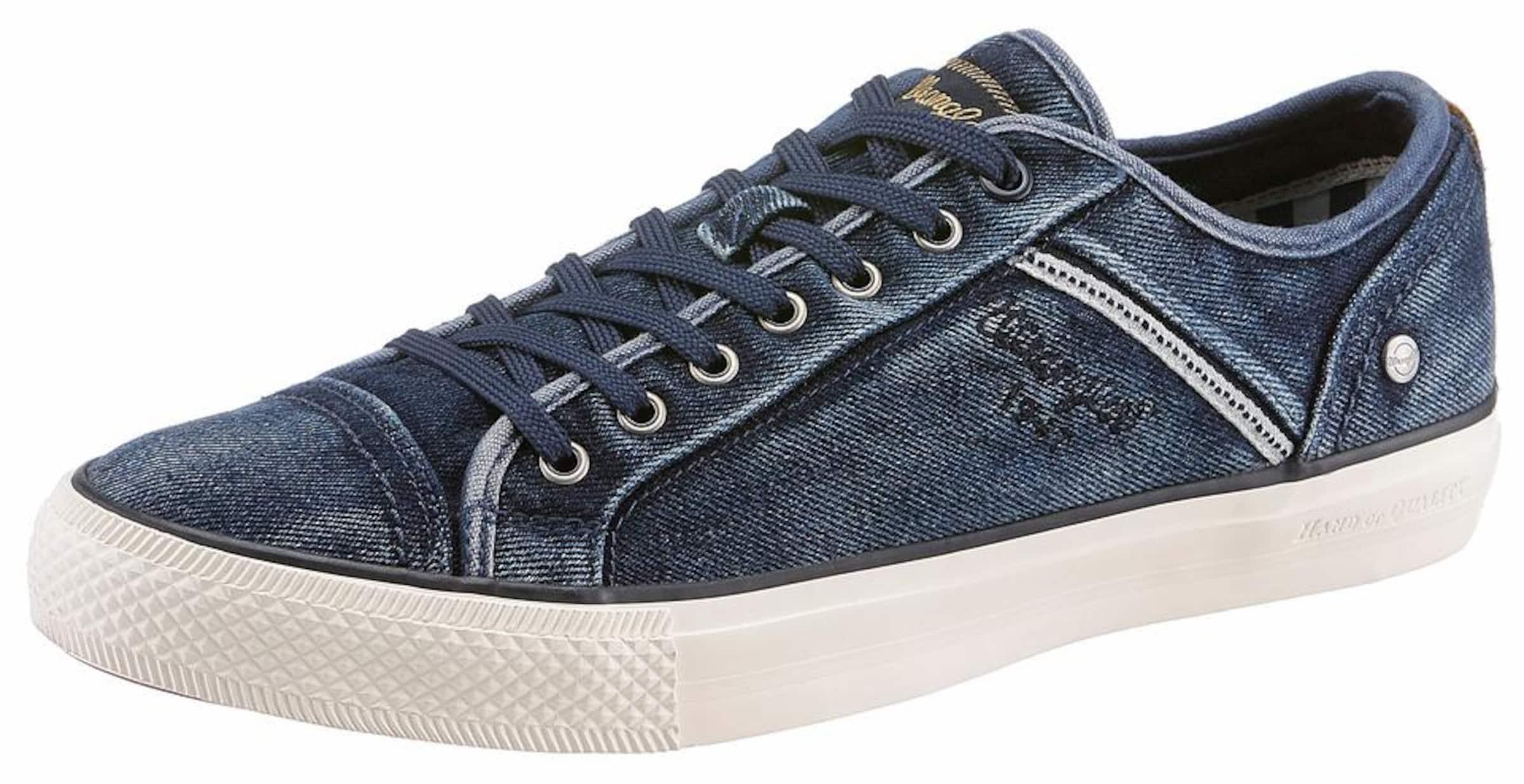 WRANGLER Sneaker Starry Low Denim Hohe Qualität