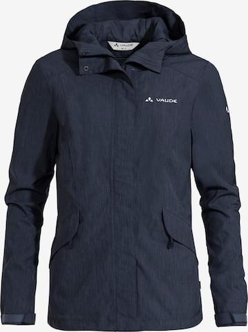 VAUDE Outdoor Jacket 'Rosemoor' in Blue