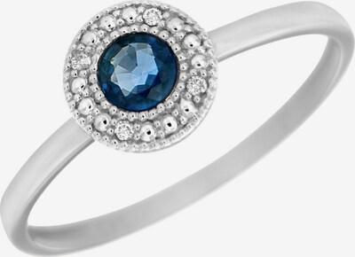 VIVANCE Ring in saphir / silber, Produktansicht