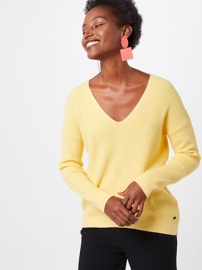 EDC BY ESPRIT Pullover 'OSN' in gelb, Modelansicht