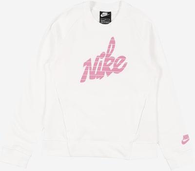 Megztinis be užsegimo iš Nike Sportswear , spalva - rožių spalva / balta, Prekių apžvalga