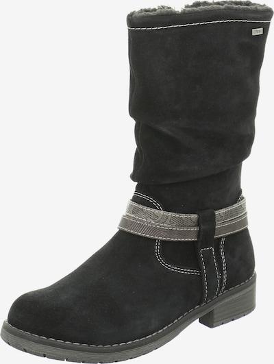 LURCHI Stiefel in hellgrau / schwarz, Produktansicht