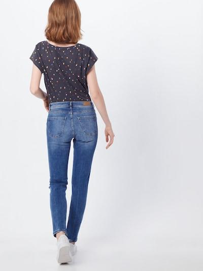 EDC BY ESPRIT Jeans in de kleur Blauw denim: Achteraanzicht