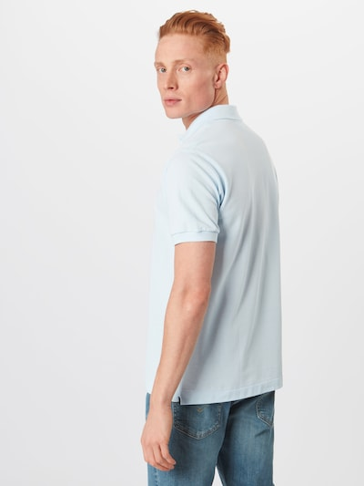 LACOSTE Shirt in Light blue / Green / Red: Rear view