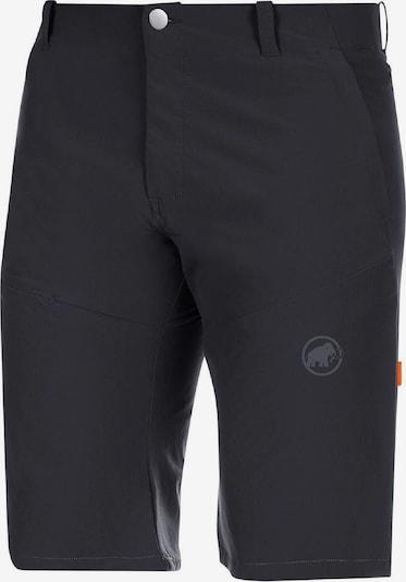 MAMMUT Shorts 'Runbold' in grau / schwarz, Produktansicht