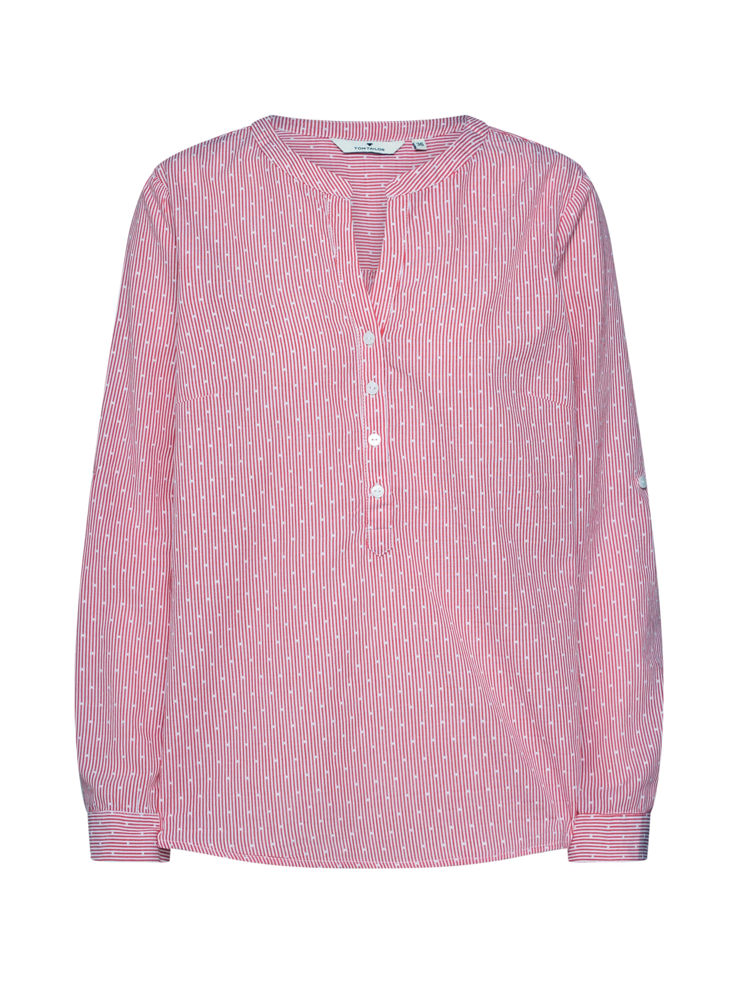 Tom Blouse' In Tailor Bluse Rot 'structured 8ONkZnX0wP