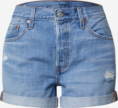 LEVI'S Jeans '501® SHORT LONG' i blå denim, Produktvy