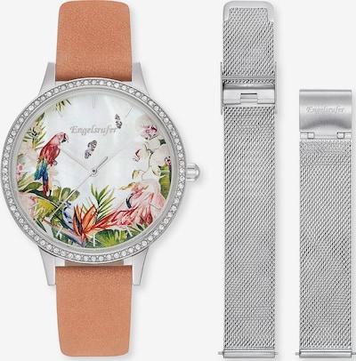Engelsrufer Uhr in braun / grau / weiß, Produktansicht