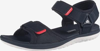 CLARKS Sandale za hodanje 'Step Beat Sun' u mornarsko plava / crvena / crna, Pregled proizvoda