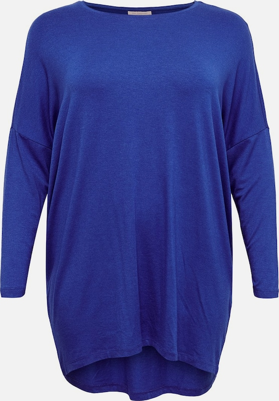 ONLY Carmakoma Top in blau, Produktansicht