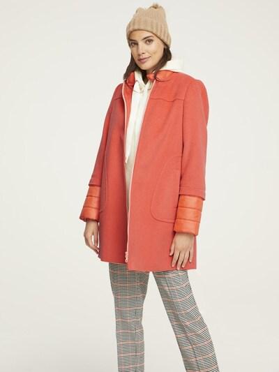 heine Zimski plašč | oranžna barva, Prikaz modela