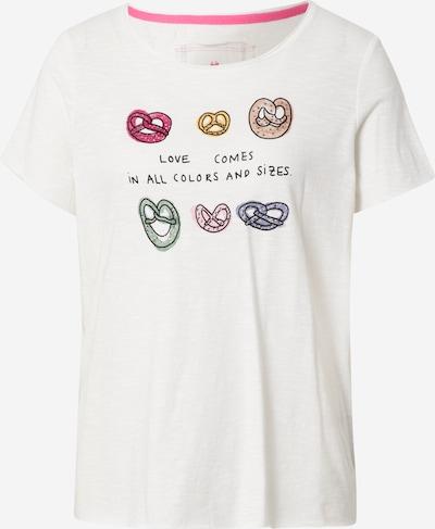 LIEBLINGSSTÜCK T-Shirt 'Marieola' in mischfarben / offwhite, Produktansicht