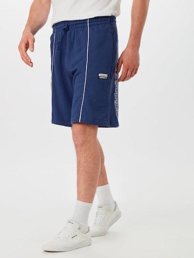 Pantaloni ADIDAS ORIGINALS pe indigo: Privire frontală