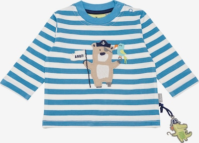 SIGIKID Shirt in blau / hellbraun / weiß, Produktansicht