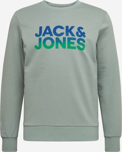 Megztinis be užsegimo iš JACK & JONES , spalva - mėlyna / turkio spalva / šviesiai žalia, Prekių apžvalga