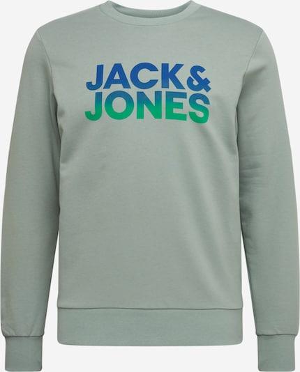 JACK & JONES Sweatshirt in Blauw / Turquoise / Lichtgroen 6Wn7hvSl