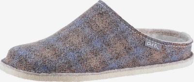 ARA Hausschuh 'COSY' in rauchblau / braun, Produktansicht