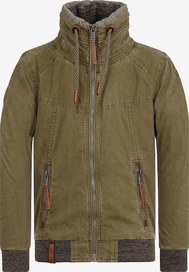 naketano Jacke in dunkelgrün, Produktansicht