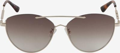 barna / arany McQ Alexander McQueen Napszemüveg 'MQ0214SA-002 58 Sunglass WOMAN METAL', Termék nézet