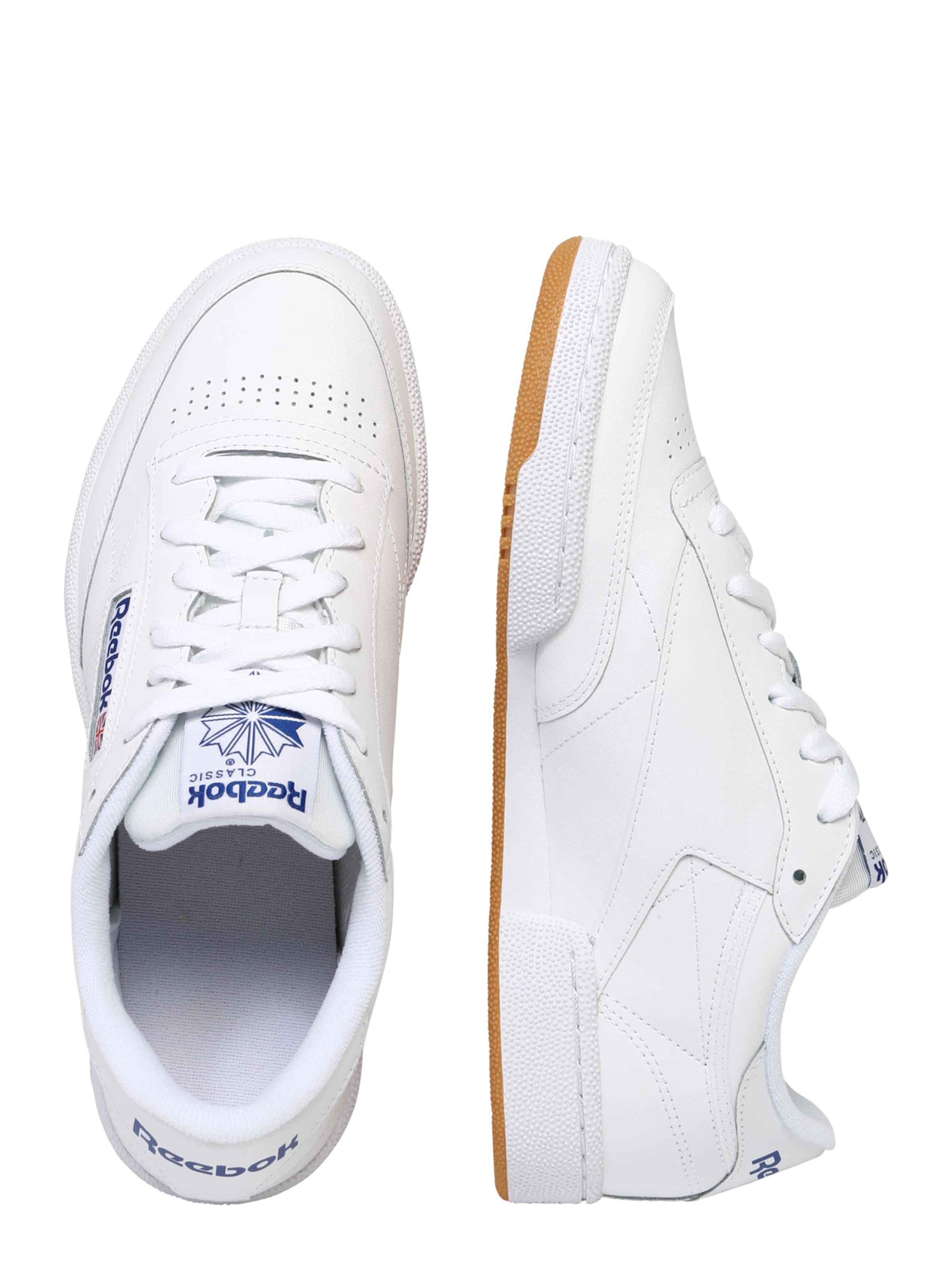 Classic BlauRot Sneaker In Weiß Reebok nOvN8wm0