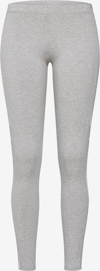 ADIDAS ORIGINALS Legíny - šedý melír / bílá, Produkt