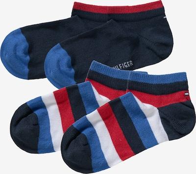 TOMMY HILFIGER Socken in blau / rot / weiß, Produktansicht