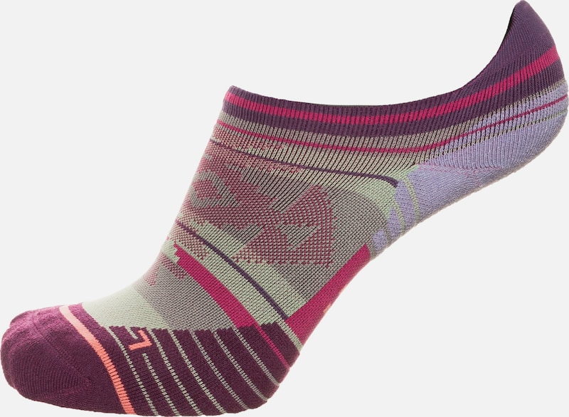 Stance Laufsocken 'Run Fusion Motivation Tab' in lila, Produktansicht