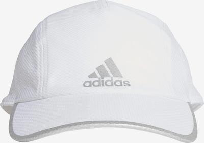 ADIDAS PERFORMANCE Cap in silber / weiß, Produktansicht