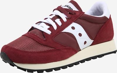 saucony Sneaker 'JAZZ ORIGINAL VINTAGE' in bordeaux / weiß, Produktansicht
