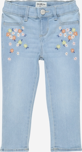 OshKosh Jeans 'Jetty Blue (flower emb)' in blue denim, Produktansicht