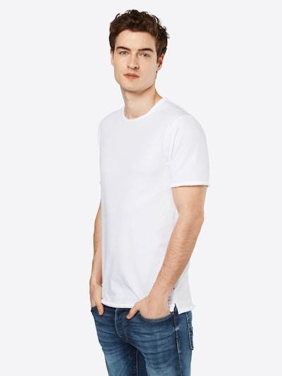 Only & Sons T-Shirt 'onsALBERT' in weiß: Frontalansicht