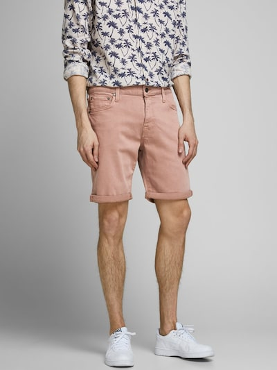 JACK & JONES 5-Pocket Style Shorts in lachs: Frontalansicht