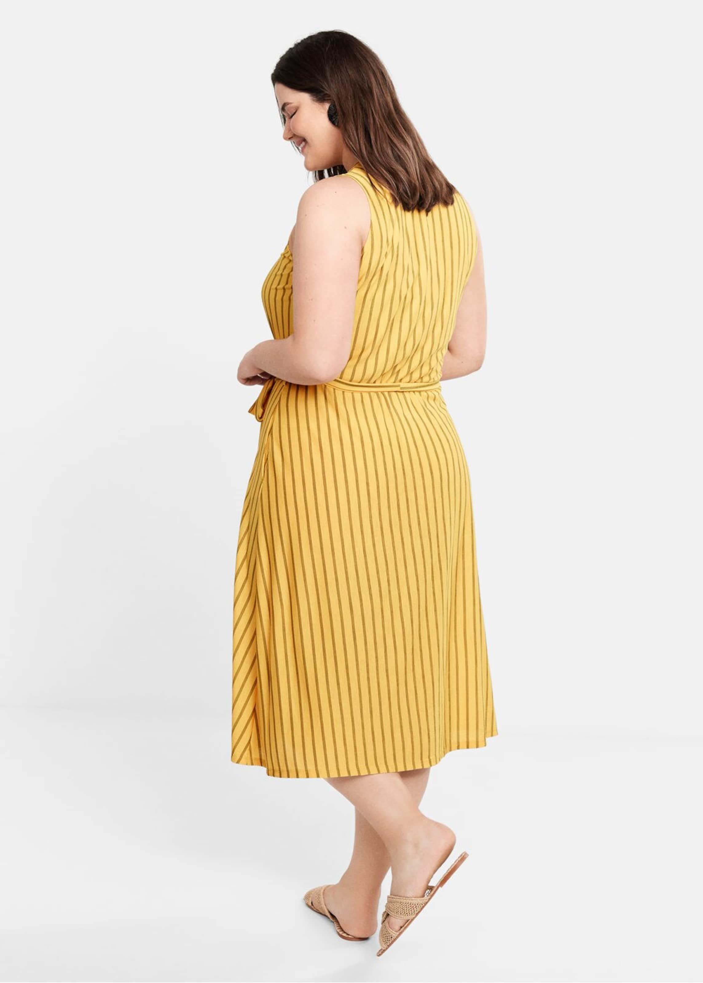 Kleid Violeta i' By In Mango 'kristen BraunGelb n0PwOk