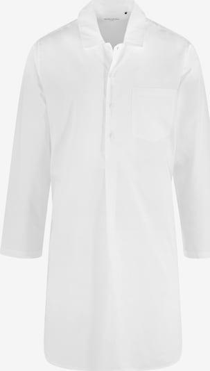 SEIDENSTICKER Pyjama kort ' Nachthemd 1/1 Arm ' in de kleur Wit, Productweergave