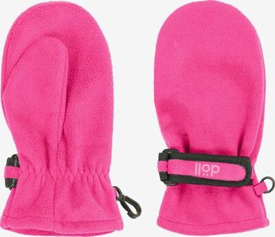 DÖLL Handschuhe in pink / schwarz, Produktansicht