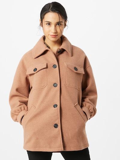 ONLY Manteau mi-saison en camel, Vue avec modèle