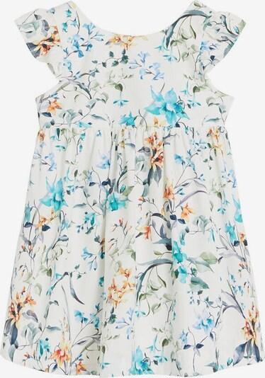 MANGO KIDS Kleid in mischfarben / weißmeliert, Produktansicht