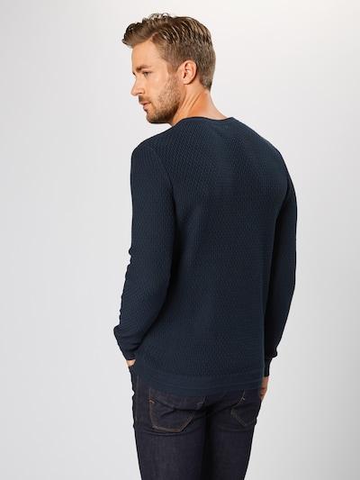 SELECTED HOMME Džemperis 'SLHOLIVER CREW NECK W NOOS' pieejami tumši zils: Aizmugures skats