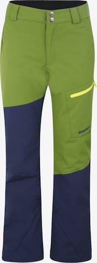 ZIENER Sportovní kalhoty 'TAVAN ' - tmavě modrá / olivová, Produkt