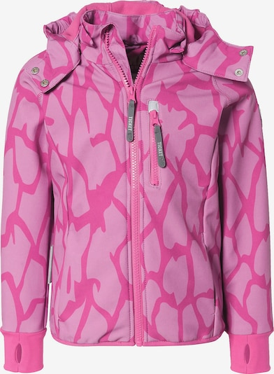 TICKET TO HEAVEN Softshelljacke in pink / hellpink, Produktansicht